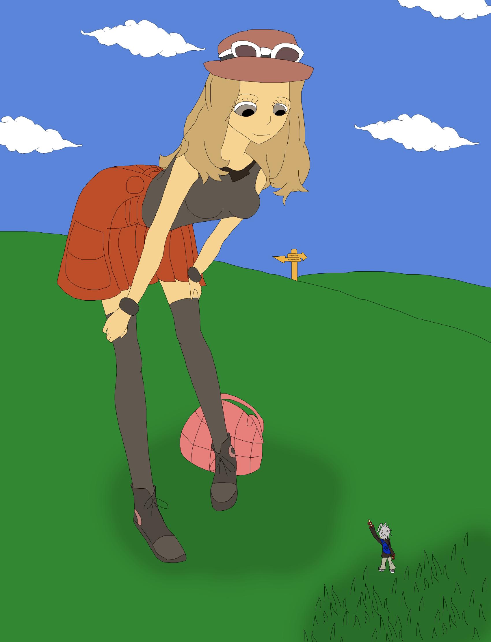 Serena (Pokemon) | Love Interest Wiki | FANDOM powered by ... |Pokemon Serena Gts