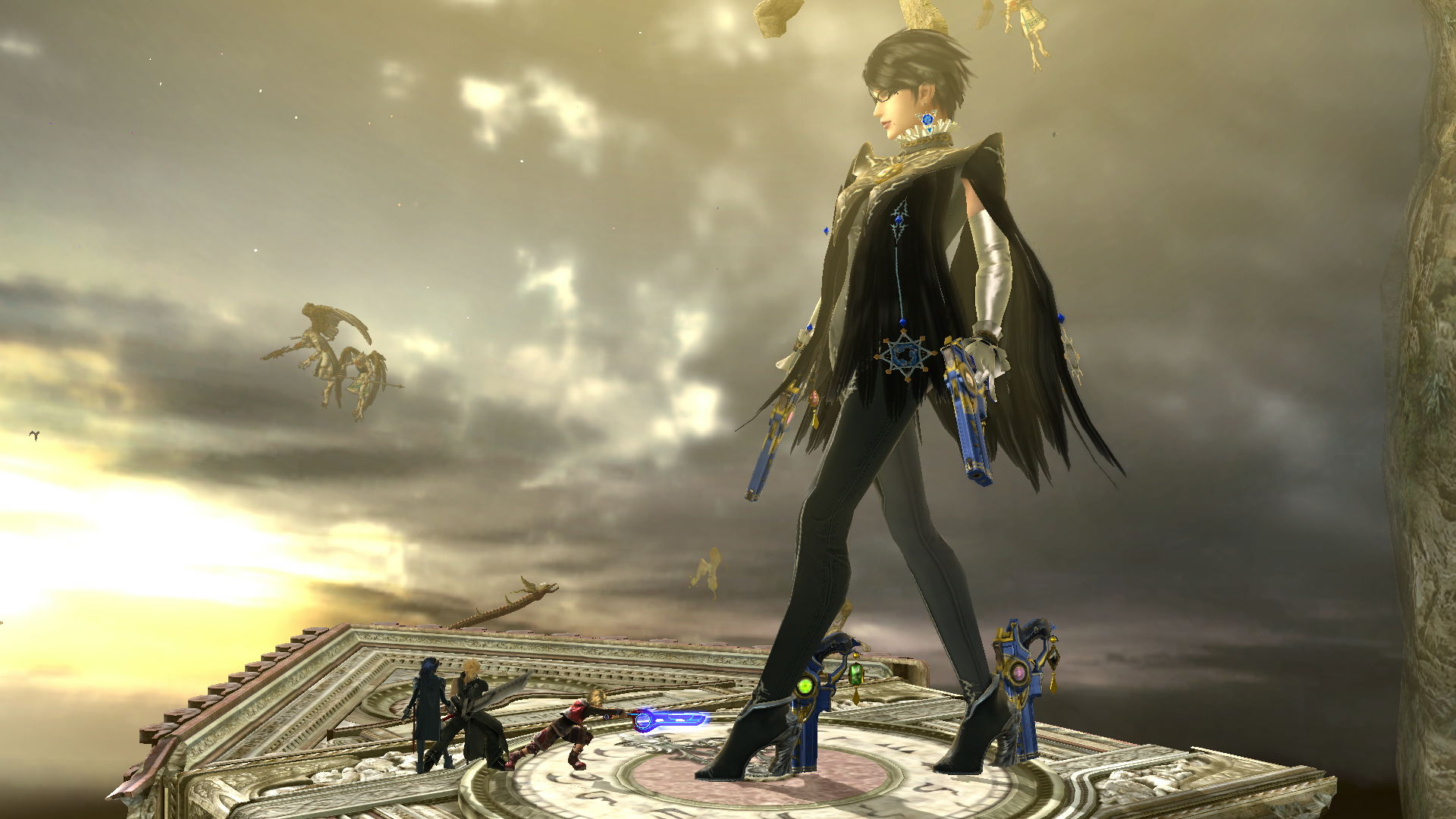 Super Smash Bros. 4 - GTS Bayonetta